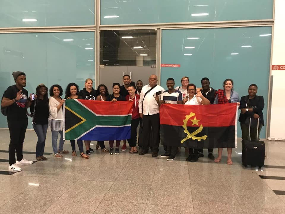 BailaAfrika was lucky to meet the administrator of Benguela at Katumbela airport.
