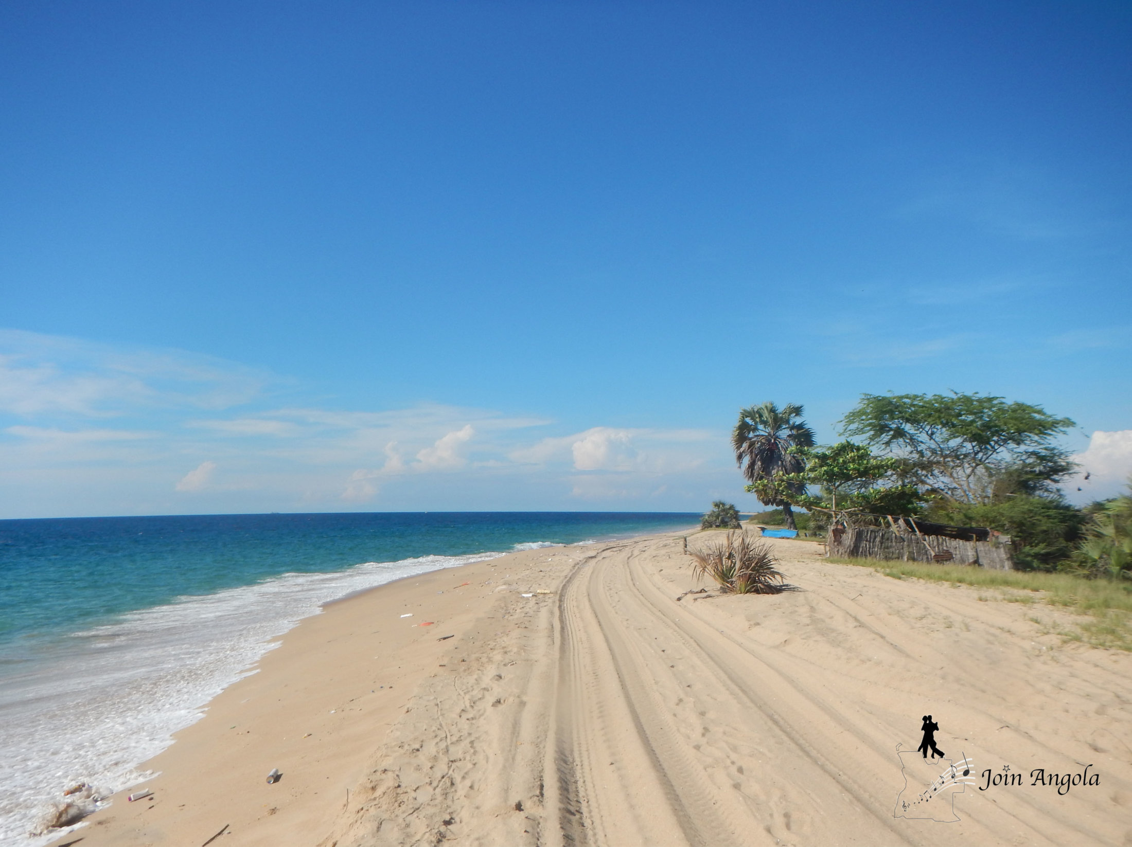 Ilha do Mussulo, where many people from Luanda go to relax on weekends.