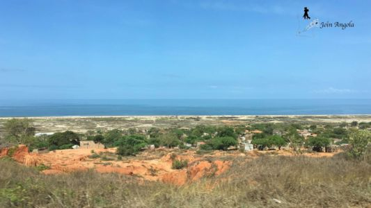 """The view of the sea at the """"Mirador da Lua"""" (=""""view point of the moon""""), in Belas, about 60 km south from Luanda."""