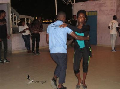 A dance school in Luanda