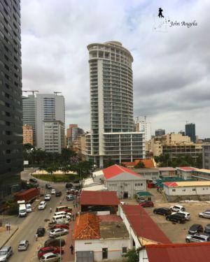 One of Luanda's skyscrapers, in the city centre.