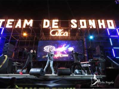 Team de Sonho's concert on occasion of the birthday of the city of Benguela in 2019.