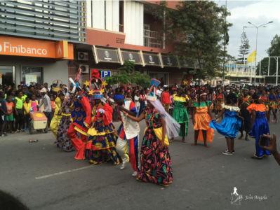 Benguela's carnival in 2018.