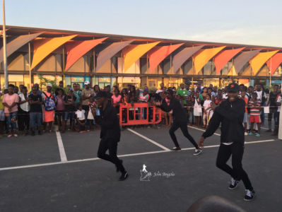 Hip hop competition in Xyami centre, in Benguela, in 2017.