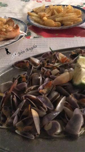 Quitetas, similar to clams.